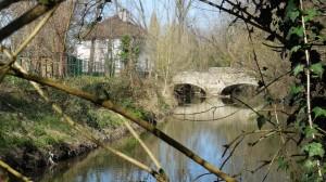 Pont Corot sur l'Orge.