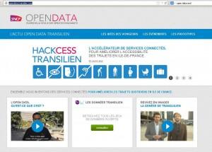 site data.transilien.com
