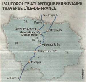 AFA. Ile-de-France. Infographie Le Parisien 5 mai 2014