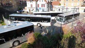 Davout cinq bus