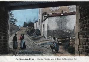 Pont-rail de la rue de la Martinière