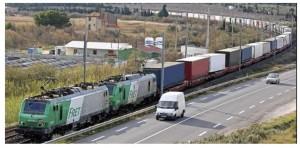 Train dautoroute ferroviaire 2