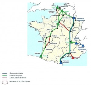 Autoroutes ferroviaires francaises 2014