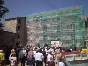 visite de chantier du futur siège du SIAHVY 2 2014-06-24