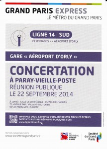 Reunion Metro Orly 2014