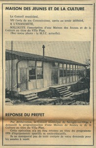 Bulletin municipal SSO novembre 1975 MC
