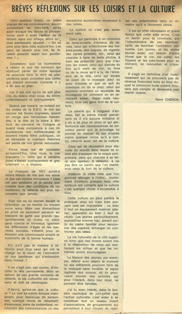 MJC GO DECEMBRE 1971