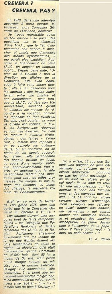 MJC GO FEVRIER 1975