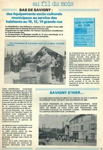 MJC TRAVAUX BM 3 AVR 1982