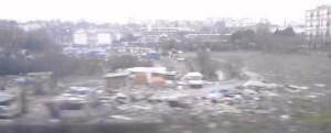 tas d'ordures dans un camp de roms à Ivry-sur-Sine 2015-03-14