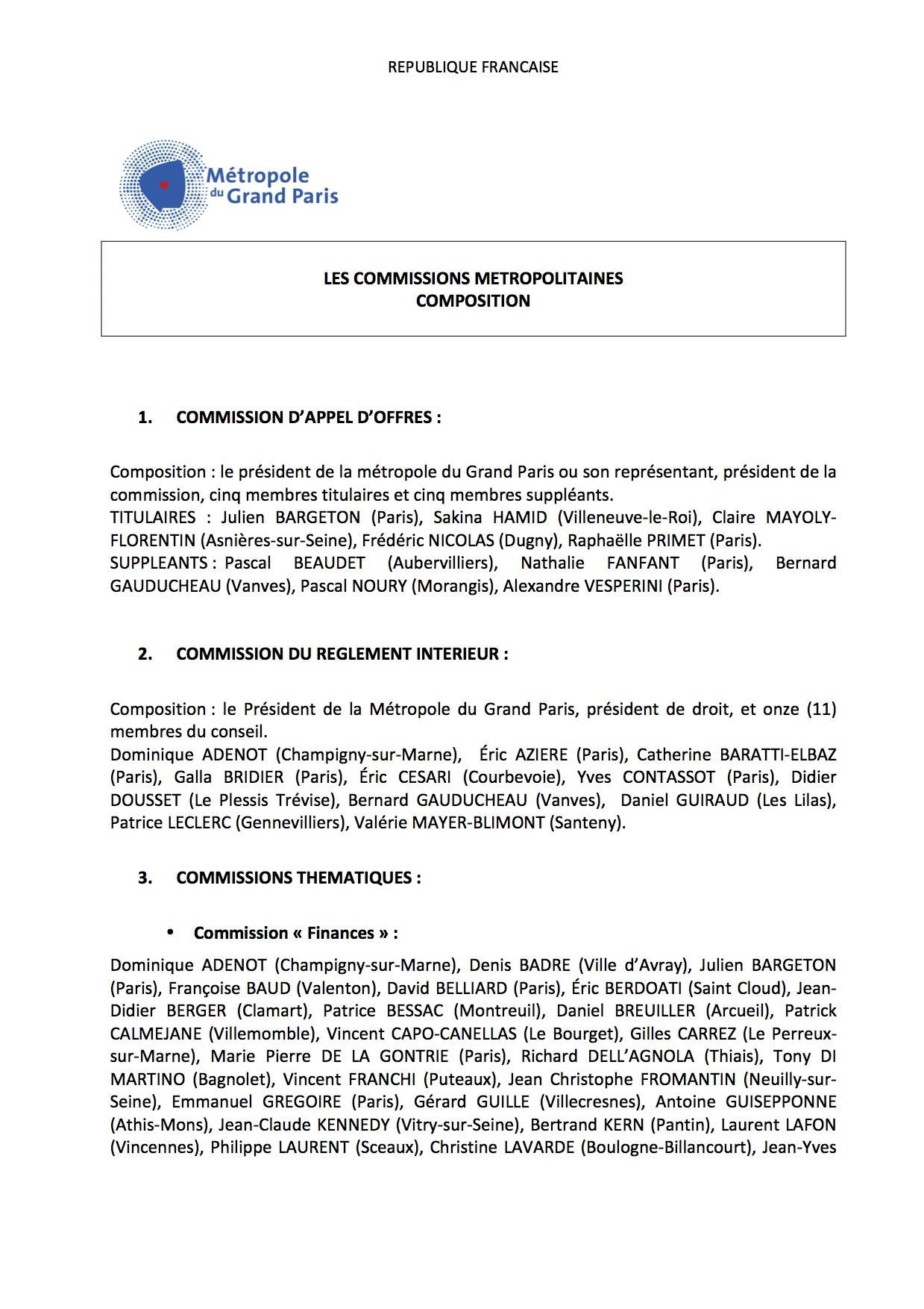 règlement municipal paris