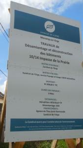 Promenade Orge Panneau
