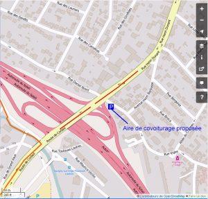 Aire de covoiturage sortie A6 Savigny-sur-Orge proposition