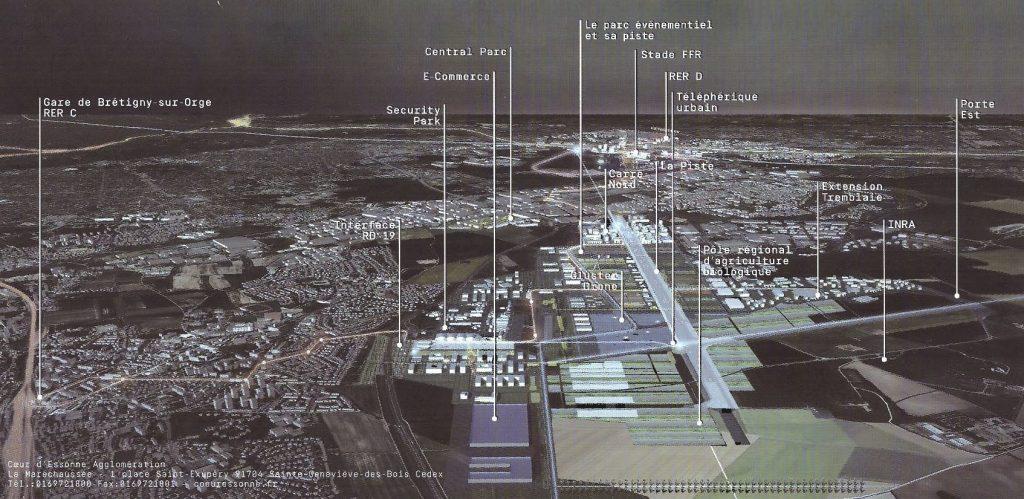 La base de coeur d essonne portes de l 39 essonne environnement - Communaute d agglomeration les portes de l essonne ...