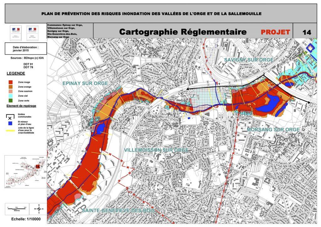 PPRI Orge Sallemouille P Carto REG P14 Projet